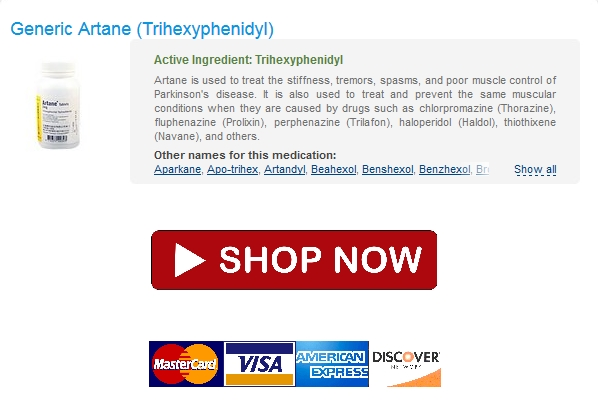 Bonus Pill With Every Order / generic Artane 2 mg Safe Buy / Certified Pharmacy Online