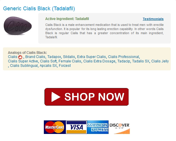 What is cialis black