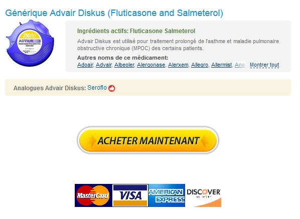 Commande De Fluticasone and Salmeterol Expédition trackable
