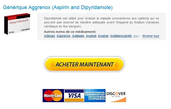 Achat Aggrenox 200 mg En Ligne Securisé Payer Par Mastercard Commande rapide Livraison
