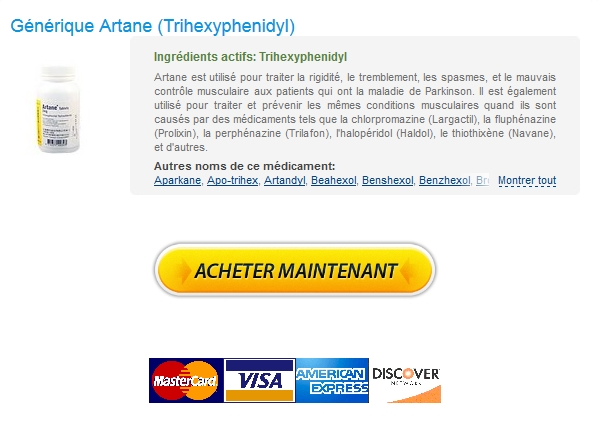 artane Trihexyphenidyl Generique En France / Sans Rx / Options de paiement flexibles