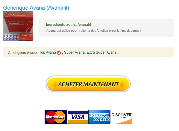 Internationale Pharmacie – Generique Avana 100 mg France – Options de paiement flexibles