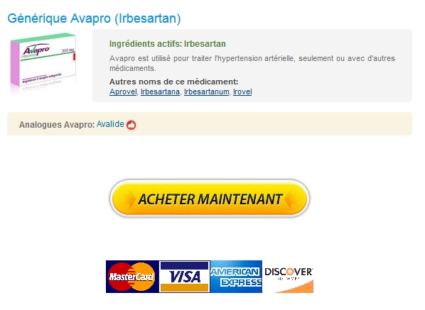 Avapro 300 mg Sans Prescription prix le plus bas