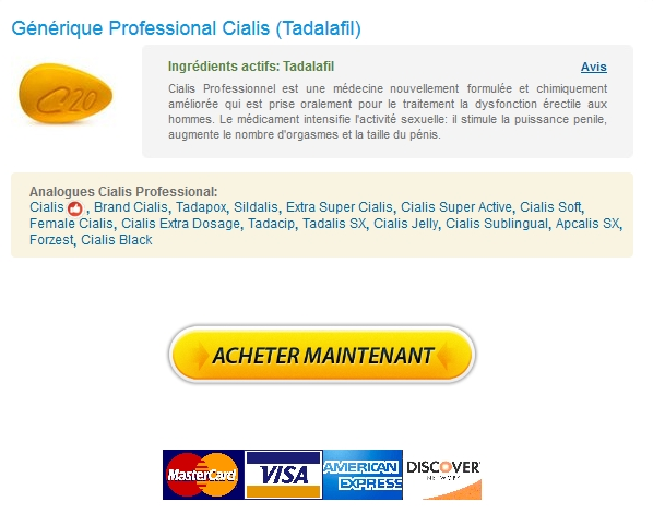 Achat Professional Cialis Generique Internationale Pharmacie