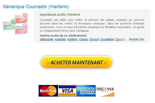 Coumadin 1 mg Pas Cher En Ligne – Internationale Pharmacie