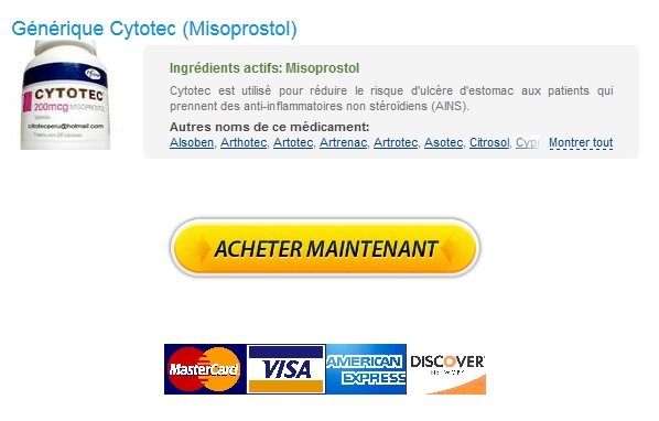 Cytotec 200 mg Generique France Sans Ordonnance