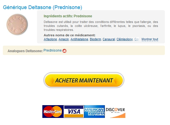 Vente De Deltasone En Pharmacie * Expédition trackable * 24h Support en ligne