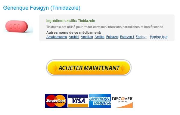 fasigyn Internationale Pharmacie / Achat Trinidazole Pharmacie