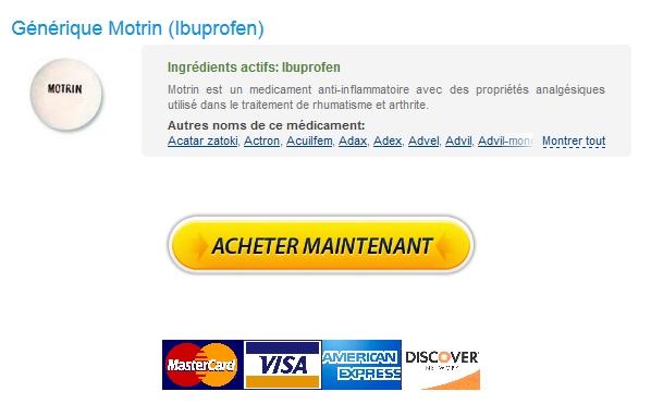 Meilleur prix et de haute qualité / Achat Motrin En Ligne En France / livraison garantie