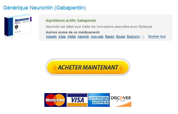 Commander Neurontin Quebec – Expédition trackable – Doctor Consultations gratuites