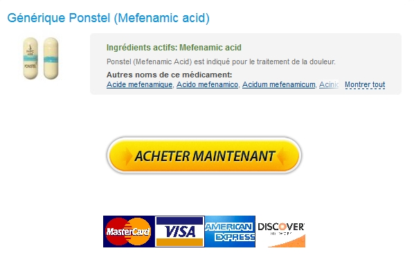ponstel Prix Mefenamic acid Pharmacie / 100% Satisfaction garantie / Payer Par BTC