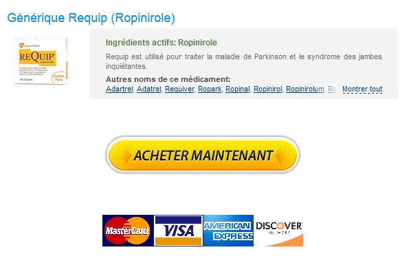 Acheter Requip 1 mg Levitra / Internationale Pharmacie / Doctor Consultations gratuites