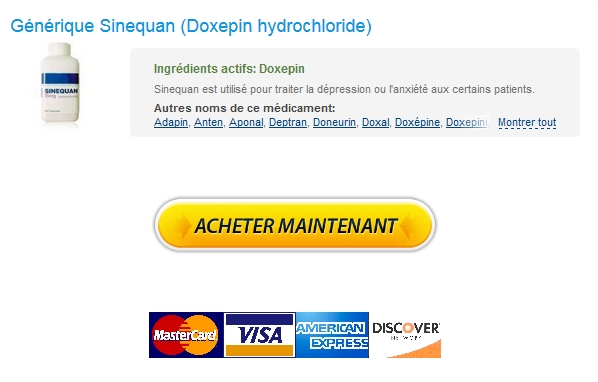 Médicaments de bonne qualité – Générique Sinequan Pas Cher – Expédition trackable -
