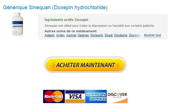 Pharmacie 24h / Doxepin hydrochloride Vente Libre / Commande rapide Livraison