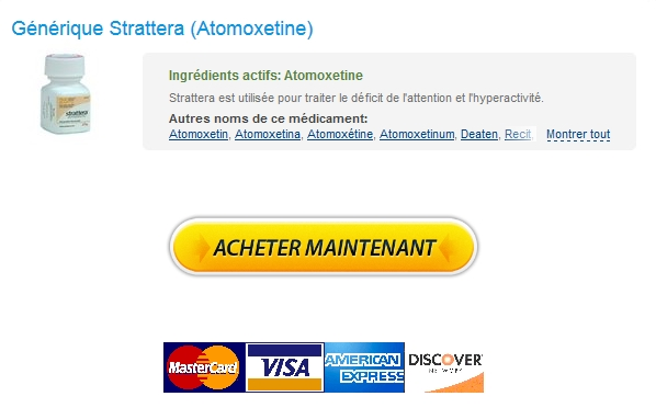 Acheter Strattera USA – Discount Online Pharmacy