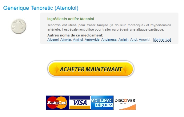 Vente Tenoretic 100 mg France – Discount Online Pharmacy – Expédition rapide