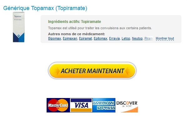 Options de paiement flexibles * Generique Topamax 100 mg En France * Médicaments Bon Marché