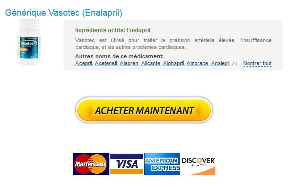 Vasotec 20 mg Generique France :: Livraison Rapide :: Livraison trackable