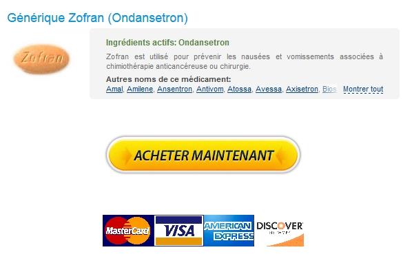 Avec Prescription / Achat Paypal Zofran / Économisez temps et coûts