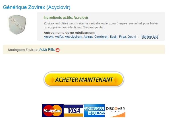 Achat Zovirax 800 mg France – Pas De Médicaments Sur Ordonnance