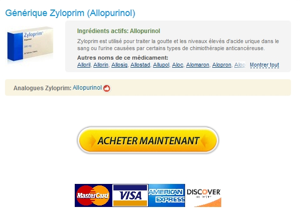 zyloprim Internationale Pharmacie :: Achat Vrai Zyloprim