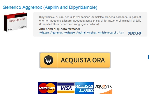 Miglior Farmacia online * Acquista Aggrenox Aspirin and Dipyridamole In linea