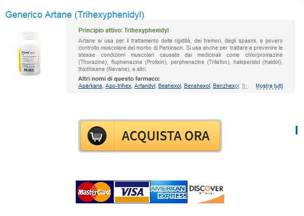 artane No Prescription Pharmacy Stati Uniti   Generico Trihexyphenidyl 2 mg Il costo di