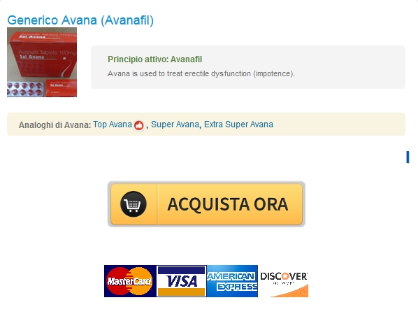 Conveniente Avana 100 mg  Ufficiale Canadian Pharmacy  Comprare Senza Ricetta