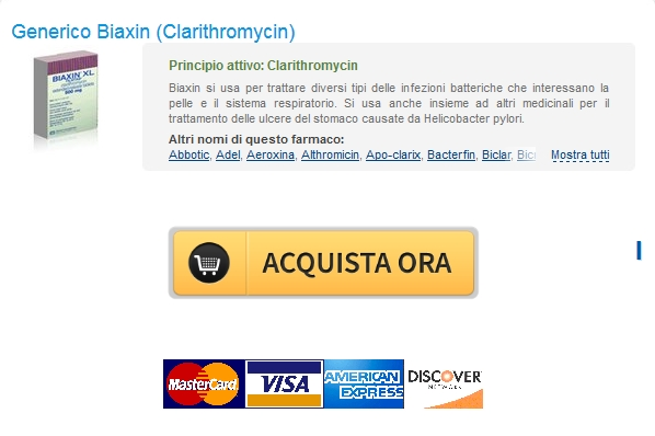 Canadian Pharmacy Healthcare online – Il costo di Biaxin Clarithromycin In linea