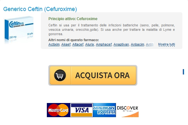 ceftin Visa, MC, Amex è disponibile Non Prescritti Cefuroxime 500 mg