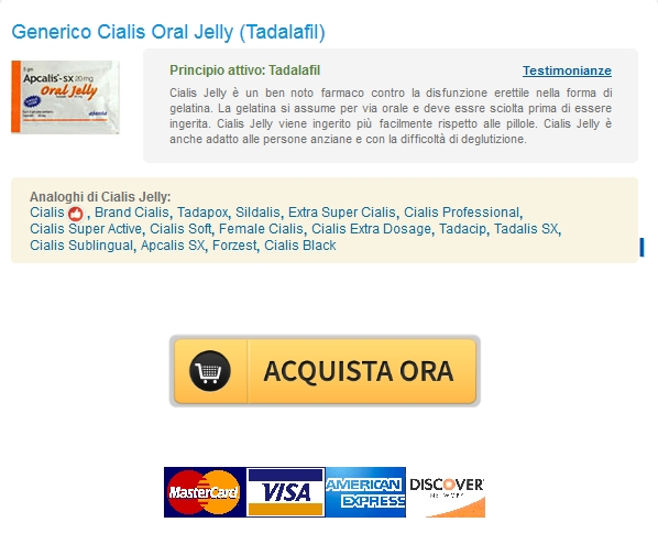 No Rx Online Pharmacy :: In linea 20 mg Cialis Oral Jelly Senza Prescrizione Medica :: Bonus pillola di ogni ordine