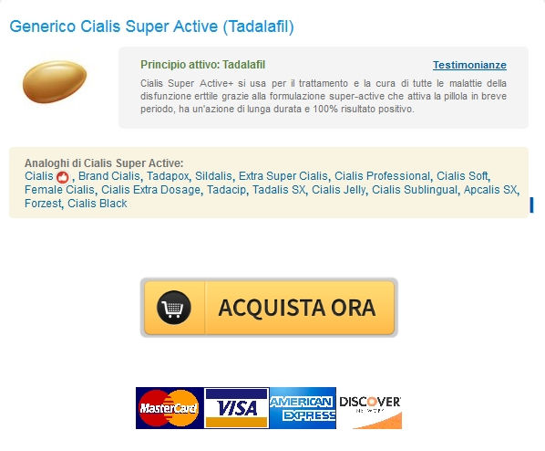 Acquista Generico Cialis Super Active Tadalafil Canadian Pharmacy Sconto Sanità