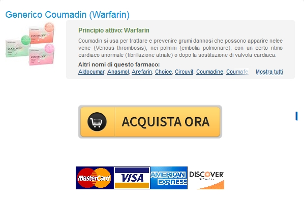 Conveniente Coumadin Warfarin Generico :: Best Canadian Online Pharmacy :: Consegna gratuita