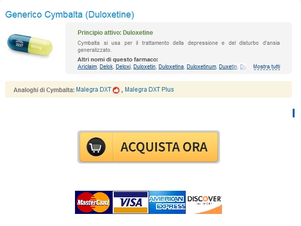 Prezzo Duloxetine 60 mg / Online Pharmacy Cheap / Bonus per ogni ordine