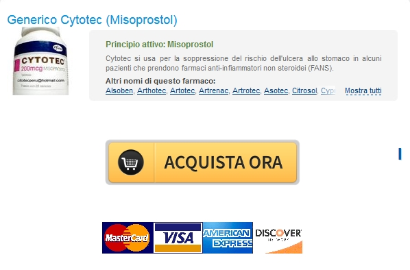 online Pharmacy Sconto Cytotec