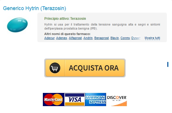 Prezzo Hytrin Terazosin In linea * Pharmacy Trusted