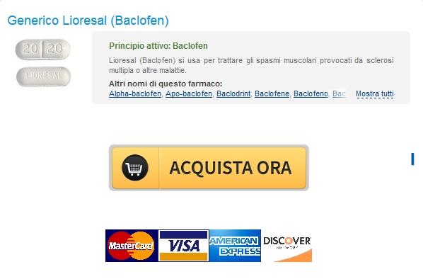 Drug negozio * Quanto costa Lioresal Baclofen Generico * consegna di corriere rintracciabile