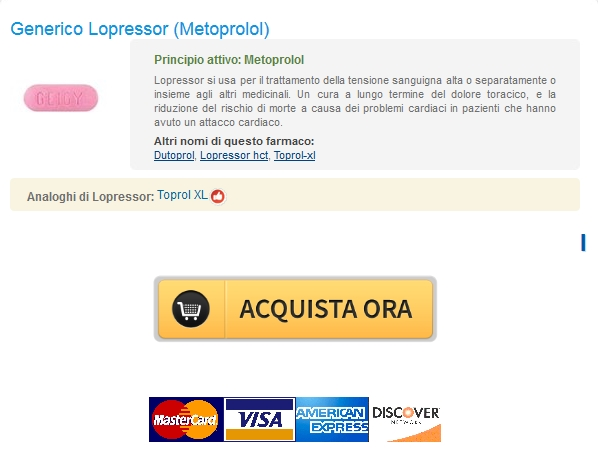 lopressor No Prescription Online Pharmacy / Lopressor 50 mg Il costo di Generico / Consegna rapida