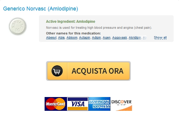 Acquista Norvasc 10 mg Generico In linea / Worldwide Shipping (1-3 giorni)