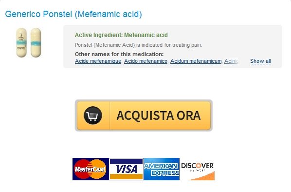 ponstel Cheap Pharmacy Candian   Nessuna Prescrizione Ponstel Mefenamic acid   pagamento BTC è disponibile