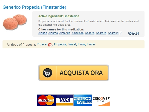 Propecia Ordine In linea – No Prescription Pharmacy Stati Uniti – Worldwide Shipping (1-3 giorni)