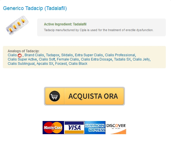 tadacip In linea Tadalafil 10 mg Non Prescritti   Worldwide Shipping (1 3 giorni)   BTC è disponibile