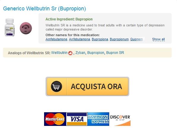 Wellbutrin Sr 150 mg Basso costo Generico * spedizione Trackable