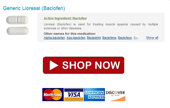 lioresal Discount Lioresal generic * Worldwide Shipping (1 3 Days) * Discount Online Pharmacy