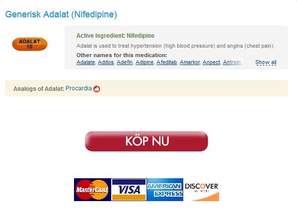 Utan Recept 5 mg Adalat Köpa – Flygpost sända – 100% garanterat nöjd