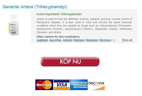 Beställa Lågt Pris Artane. Säker Apotek