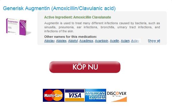 Säker Apotek Amoxicillin/Clavulanic acid Soll Billiger Werden