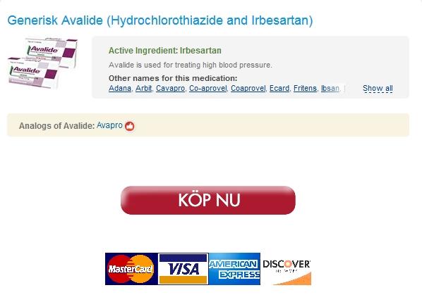 24/7 Apotek * Avalide 150 mg Köpa På Nätet * Snabb Världsomspännande sändnings -