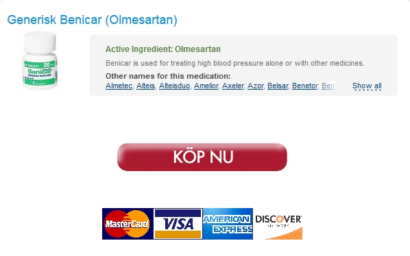 Bästa Apotek För Att Beställa Generika. Köpa Generisk 10 mg Benicar. Vi accepterar: VISA, Mastercard , Amex, Echeck