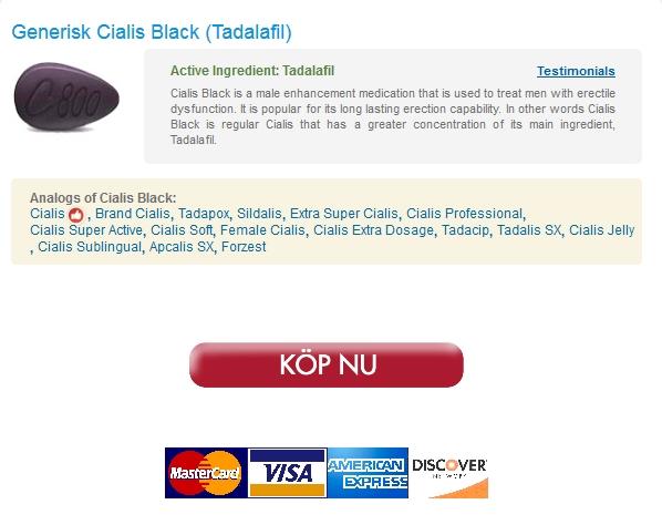 Lågt Pris Cialis Black – Fri leverans -